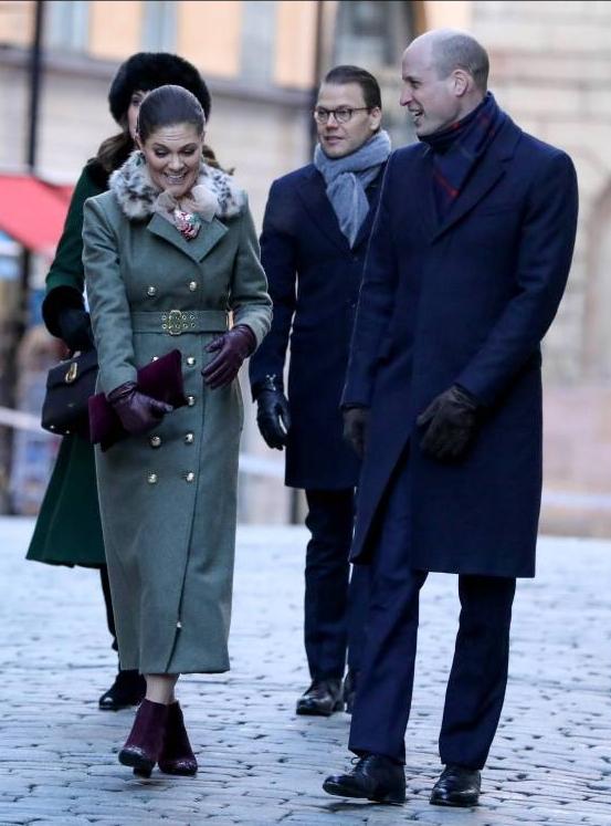 Die beiden Thronfolger Victoria und William verstehen sich blendend.    Foto:imago/i Images