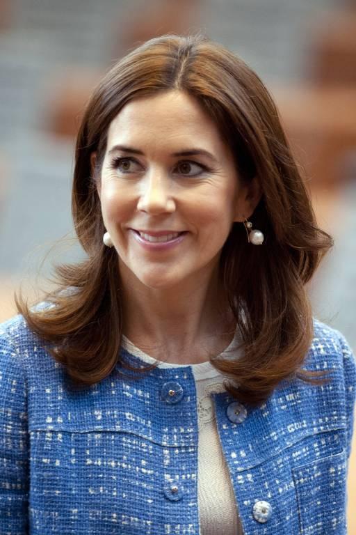 Kronprinzessin Mary von Dänemark wird heute 46 Jahre alt.    Foto:imago/Sven Simon