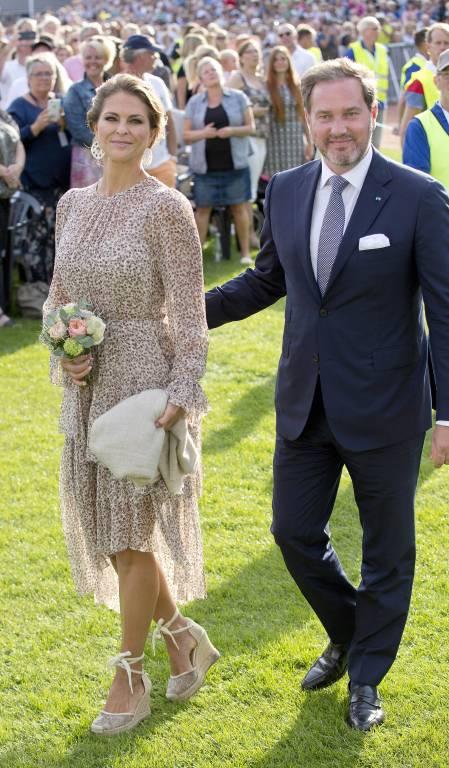 Madeleine und Chris wird es in den schwedischen Medien nicht leicht gemacht.     Foto:  imago/PPE