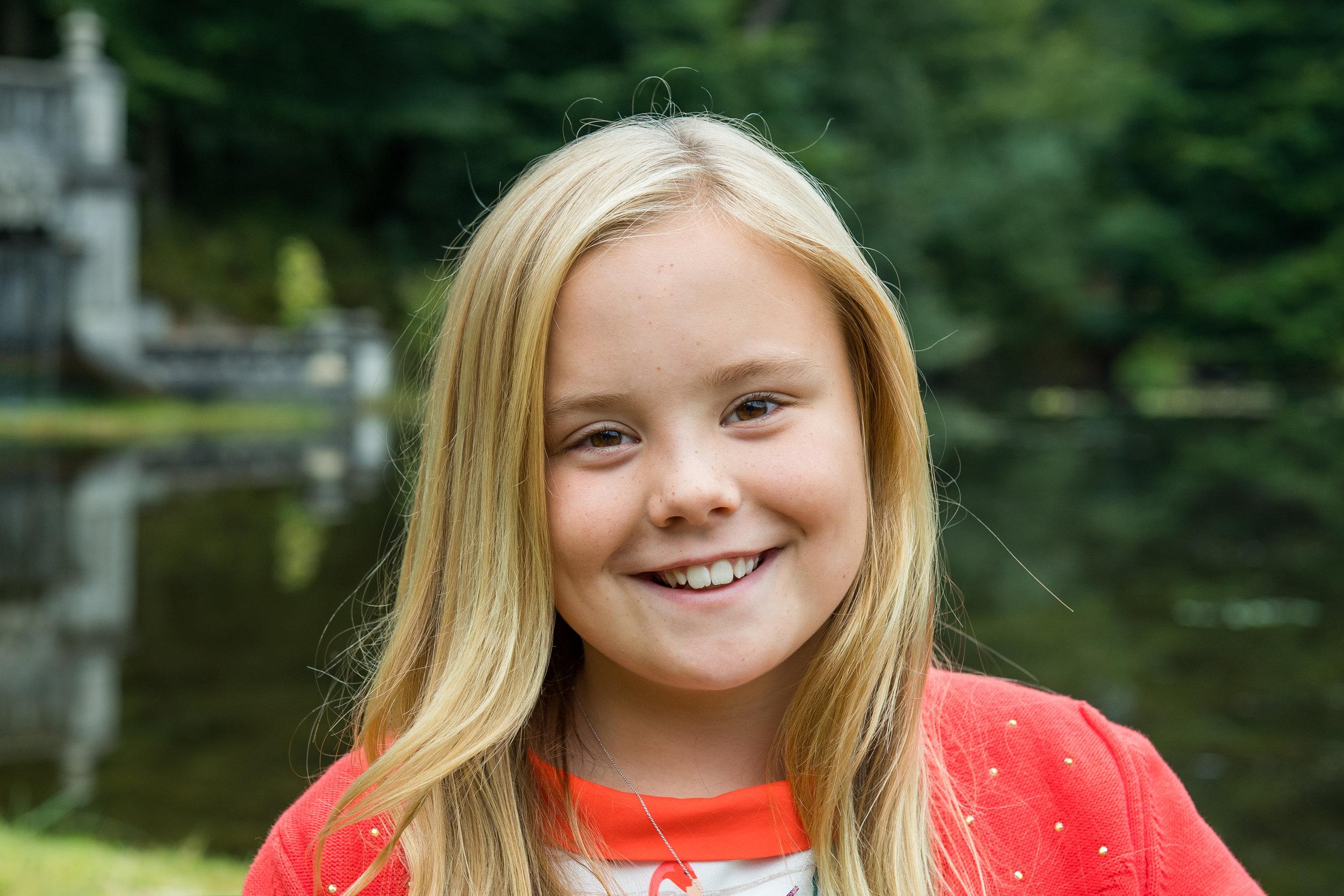 Laut ihrem Arzt kann Prinzessin Alexia bald Skifahren gehen.    Foto: RVD,Jeroen van der Meyde