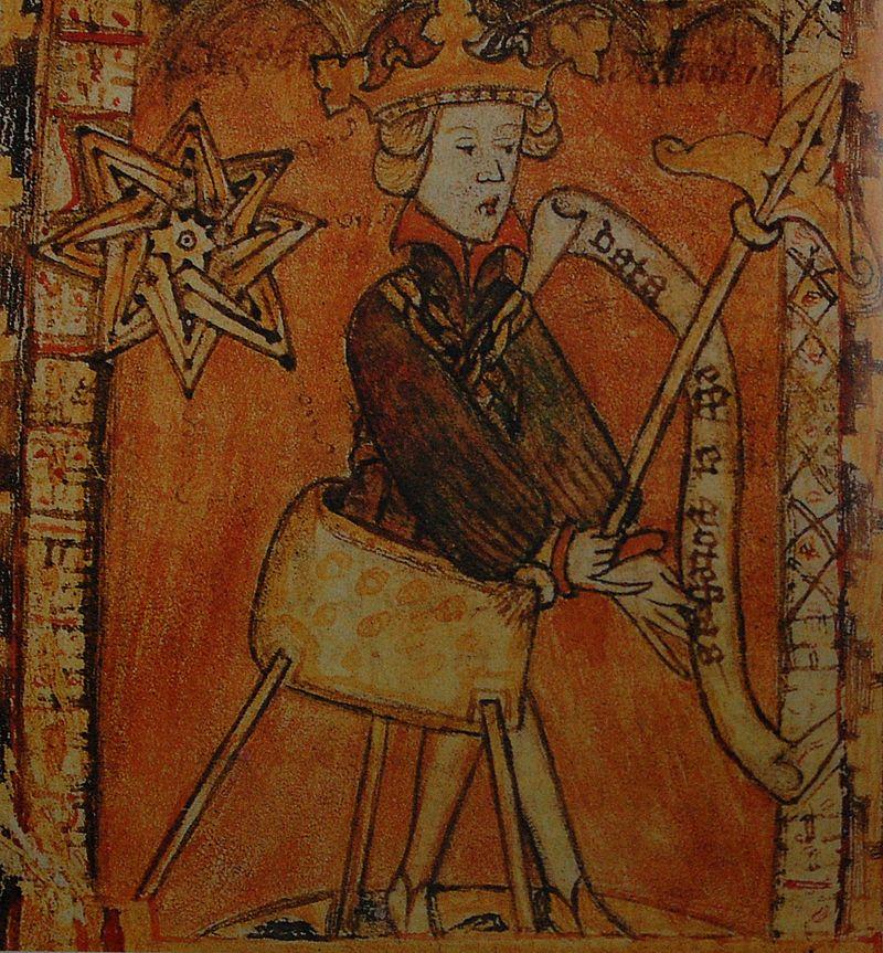 König Magnus II. saß von 1319 bis 1364 auf dem Thron und hält damit den Rekord in der schwedischen Geschichte .   Foto: Gemeinfrei