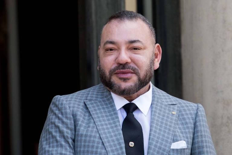 König Mohammed von Marokko wurde am Herz operiert.     Foto: imago/IP3press