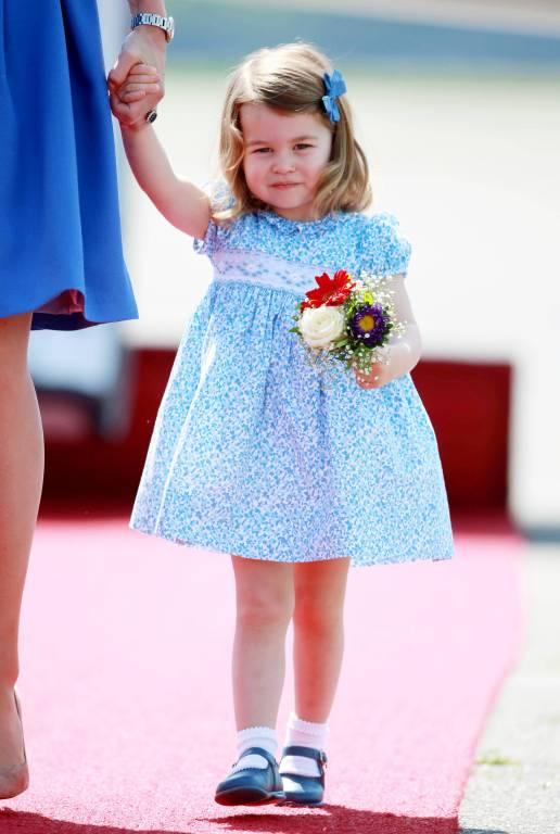 Prinzessin Charlotte liebt es zu tanzen.    Foto:imago/Starface