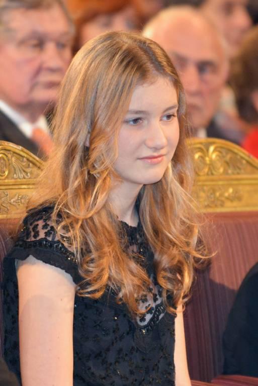 Prinzessin Elisabeth verlässt Belgien, um in Wales auf die Schule zu gehen.    Foto:imago/Reporters