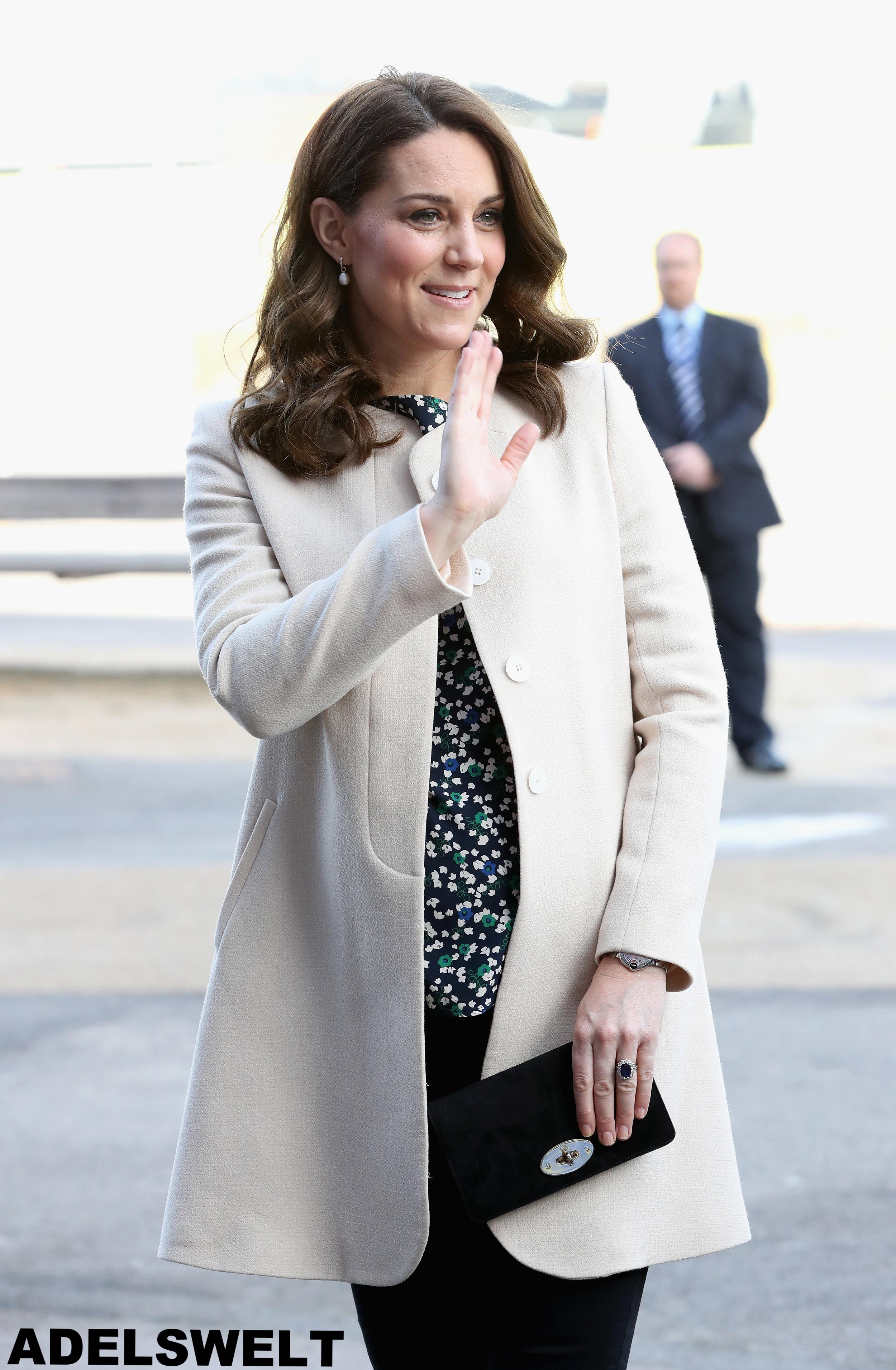 Mit diesem Outfit begeistert Herzogin Kate ihre Fans.    Foto: Getty Images