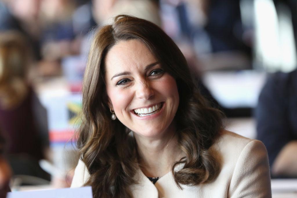 Herzogin Kate strahlt, doch ihre Augenringe verraten: Die Schwangerschaft wird immer anstrengender.    Foto: Getty Images