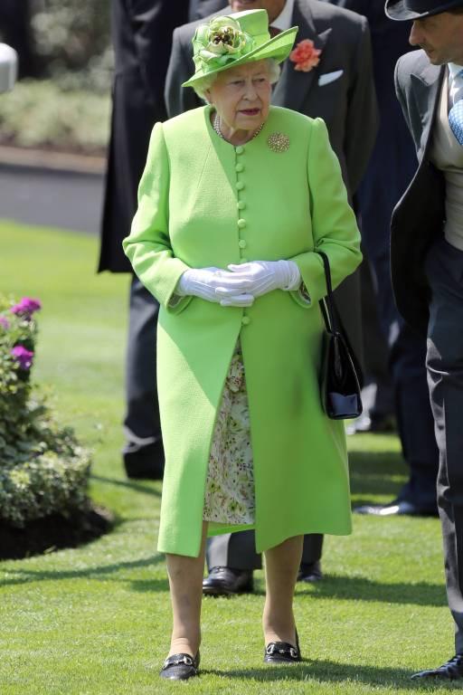 Queen Elizabeth trägt gerne knallige Farben.  Foto: imago/Matrix