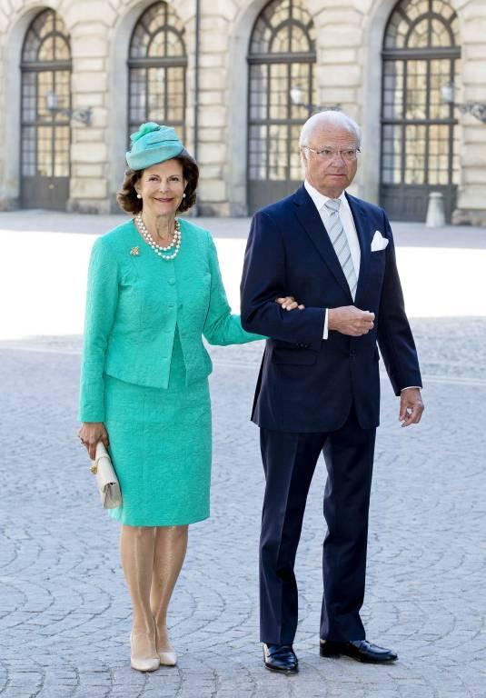 Zum 40. Geburtstag von Kronprinzessin Victoria kam Königin Silvia in Mint.  Foto: imago/PPE