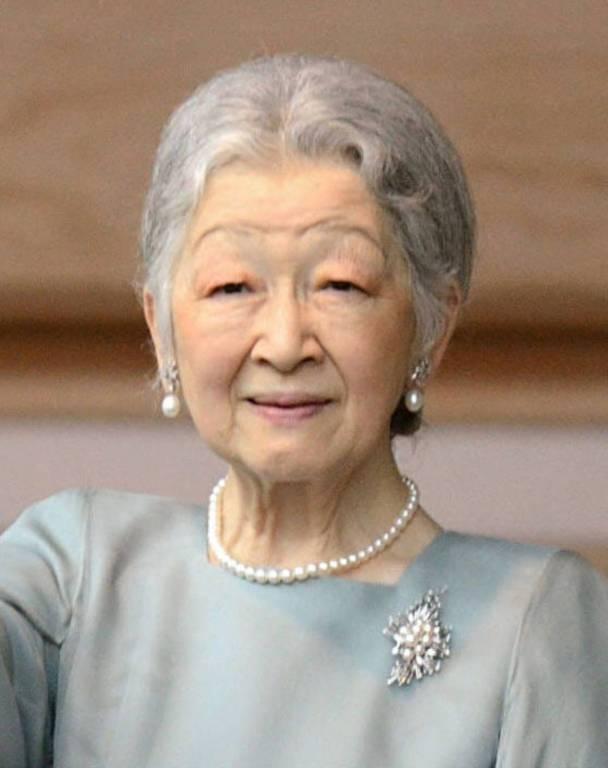 Kaiserin Michiko plagen starke Schmerzen.   Foto:imago/Kyodo News