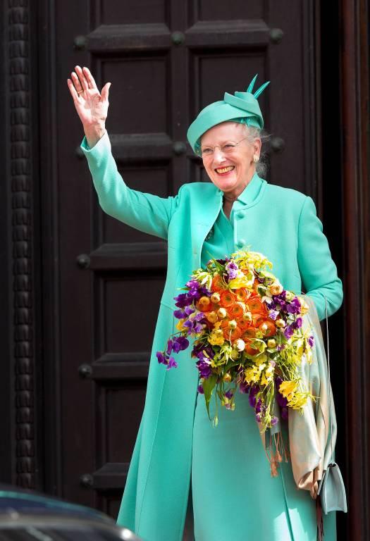 Auch in traurigen Zeiten lächelt Königin Margrethe, um Zuversicht zu verbreiten.   Foto:imago/PPE