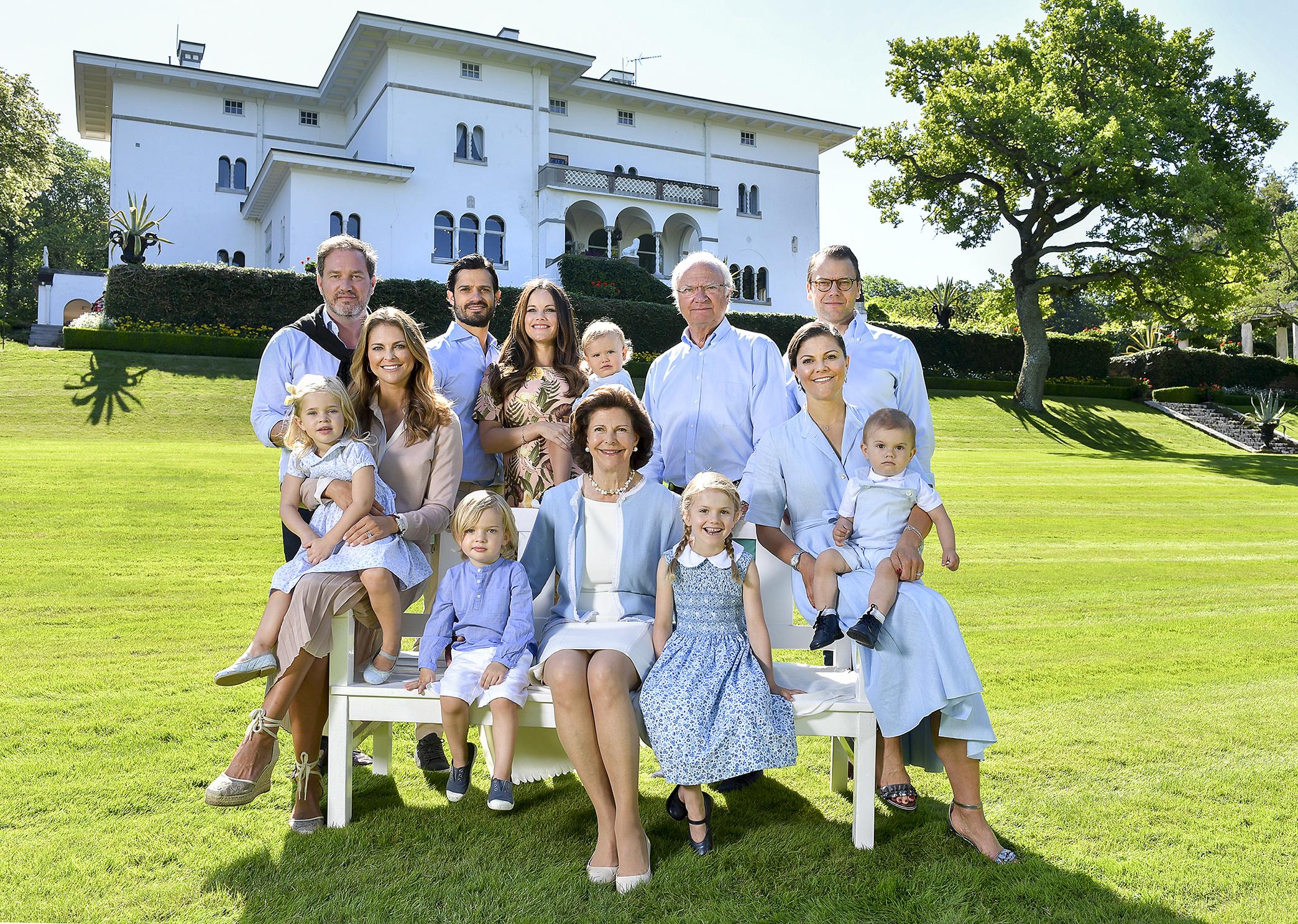 Die schwedische Königsfamilie muss wegen ihrer Privilegien viel Kritik einstecken.   Foto:Jonas Ekströmer, Kungahuset.se