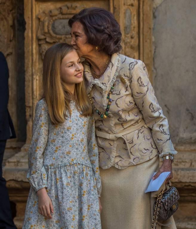 Ex-Königin Sofia scheint ihrer Enkelin die Reaktion nicht übel zu nehmen.    Foto:imago/Agencia EFE