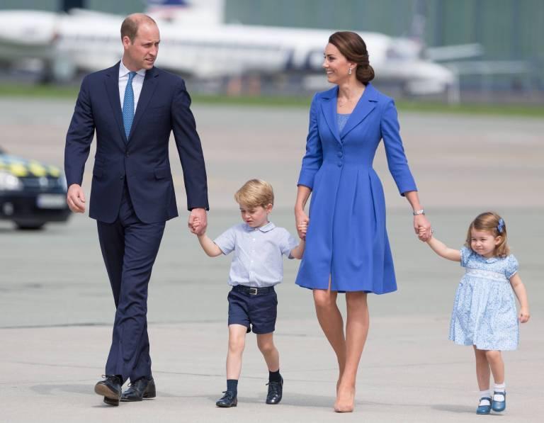 Prinz George und Prinzessin Charlotte haben ein Geschwisterchen bekommen.   Foto:imago/ZUMA Press