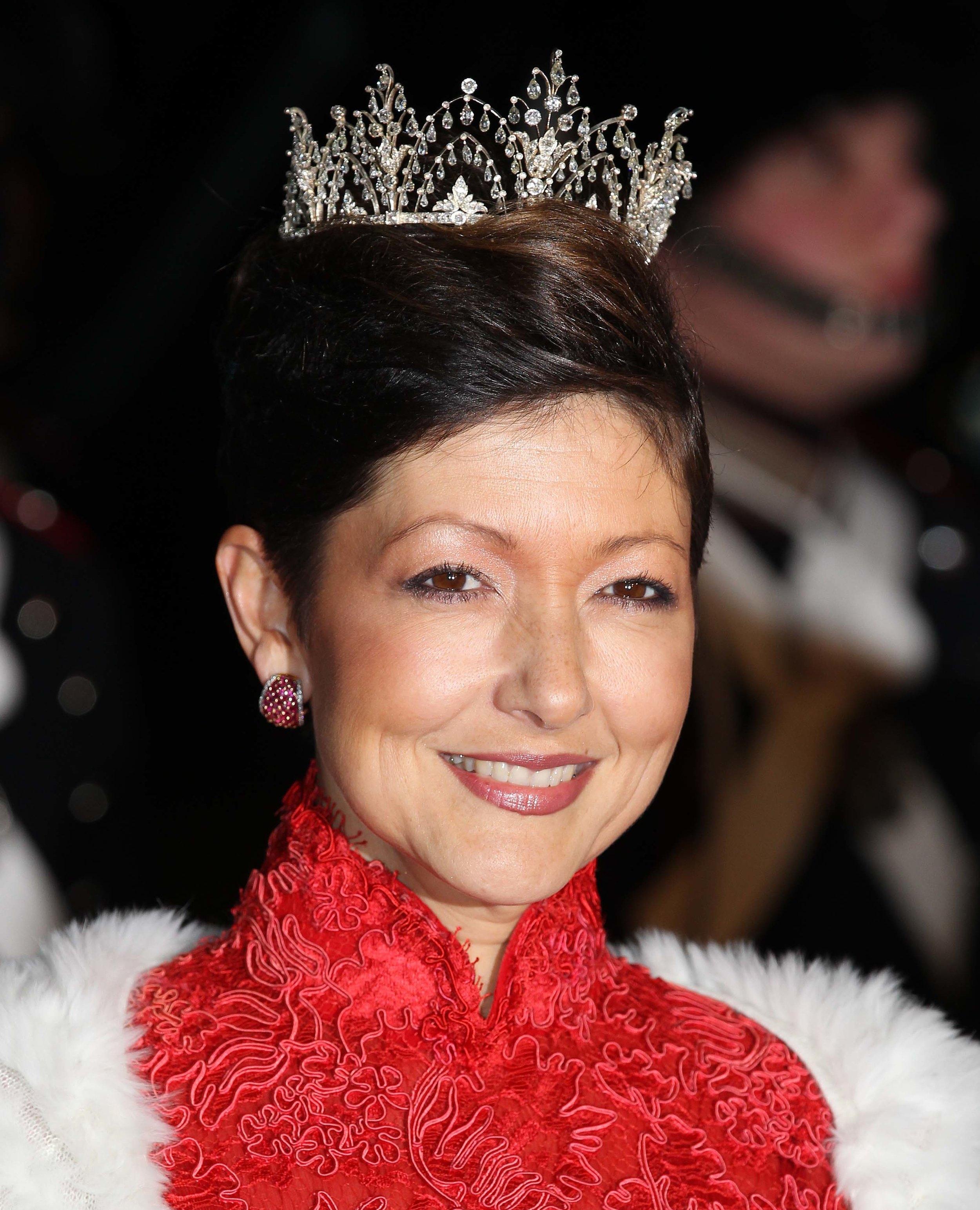 Gräfin Alexandra versteht sich mit ihrem Ex-Mann Joachim wieder gut.   Foto: Getty Images