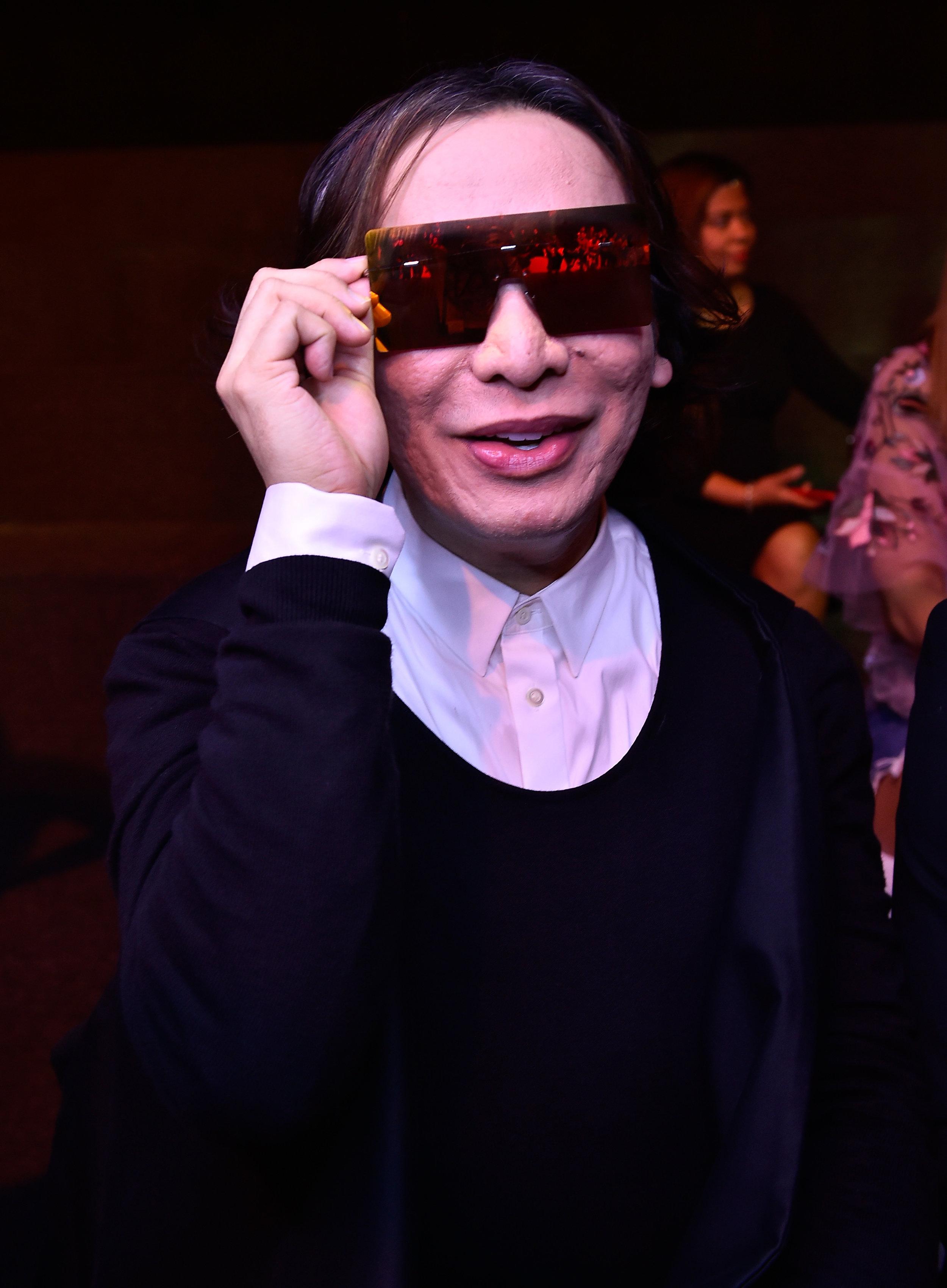 Modedesigner Miachel Cinco darf nicht verraten, wen er eingekleidet hat.  Foto: Getty Images
