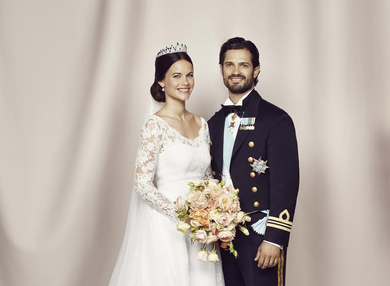 Der Hitkünstler machte die Hochzeit von Sofia und Carl Philip am 13. Juni 2015 unvergesslich.   Foto: Mattias Edwall, Kungahuset.se