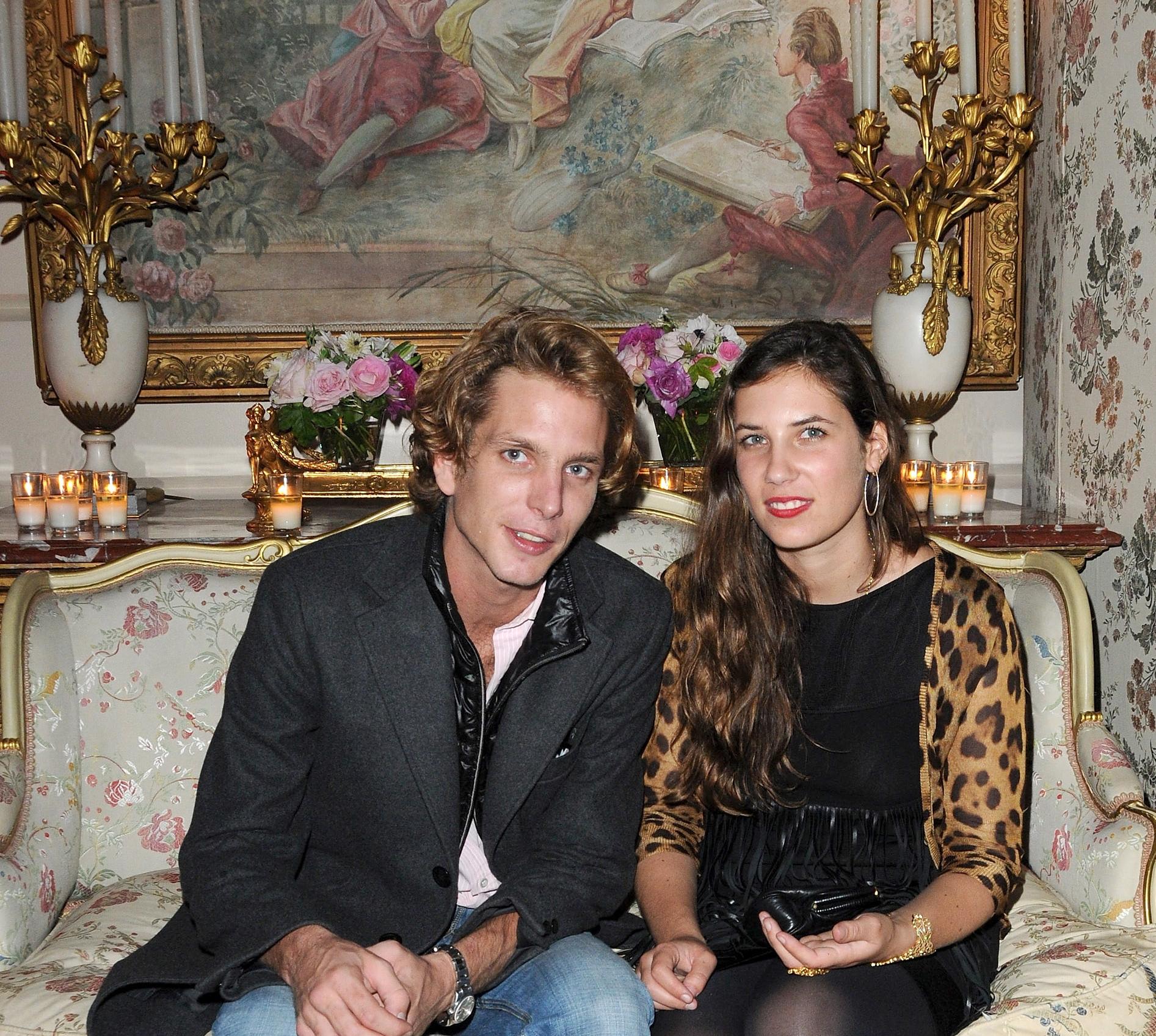 Andrea Casiraghi und Tatiana Santo Domingo sind wieder Eltern geworden.  Foto: Getty Images