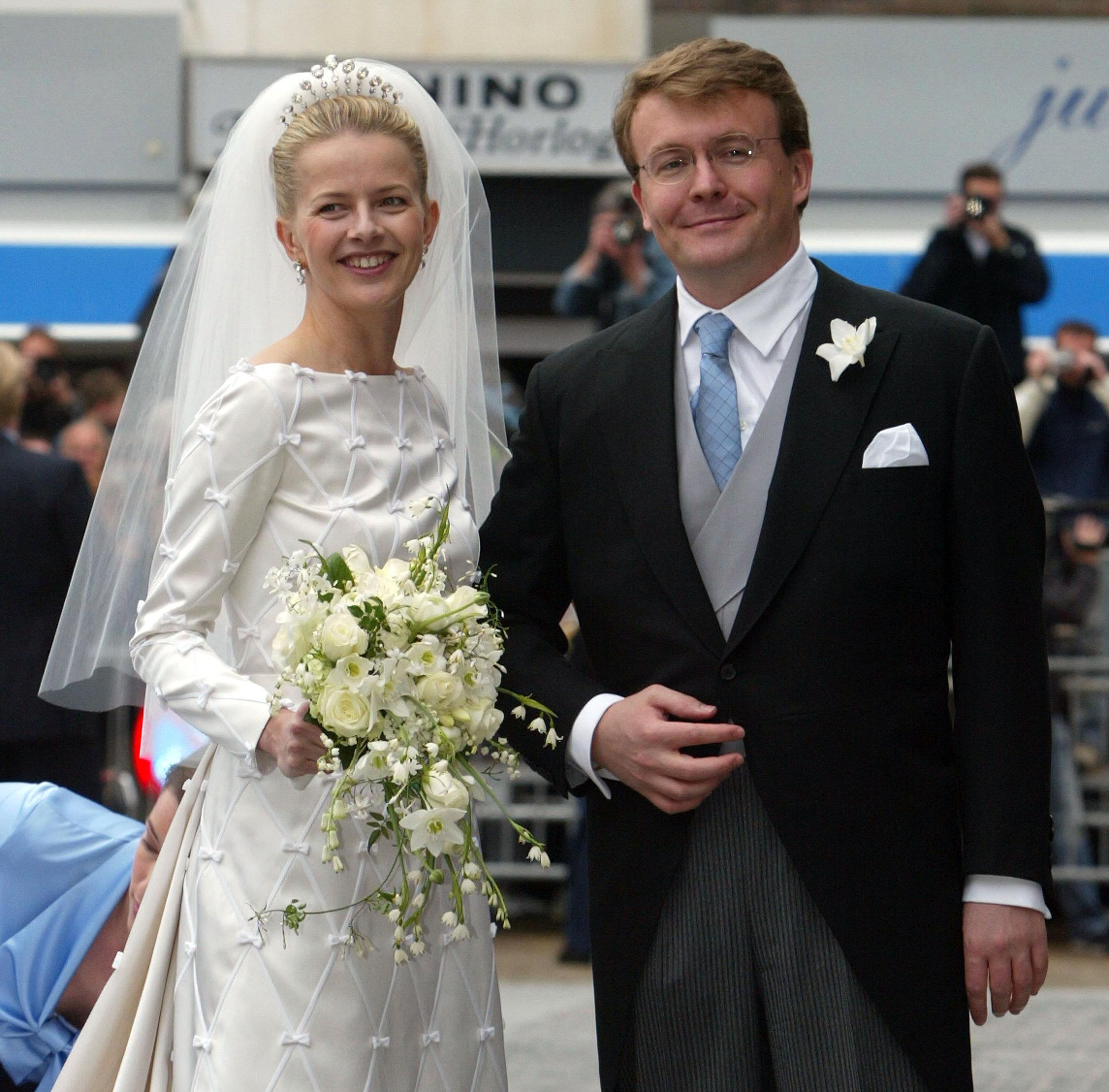Man kann Friso ansehen, wie stolz er auf seine schöne Braut ist.   Foto: Getty Images