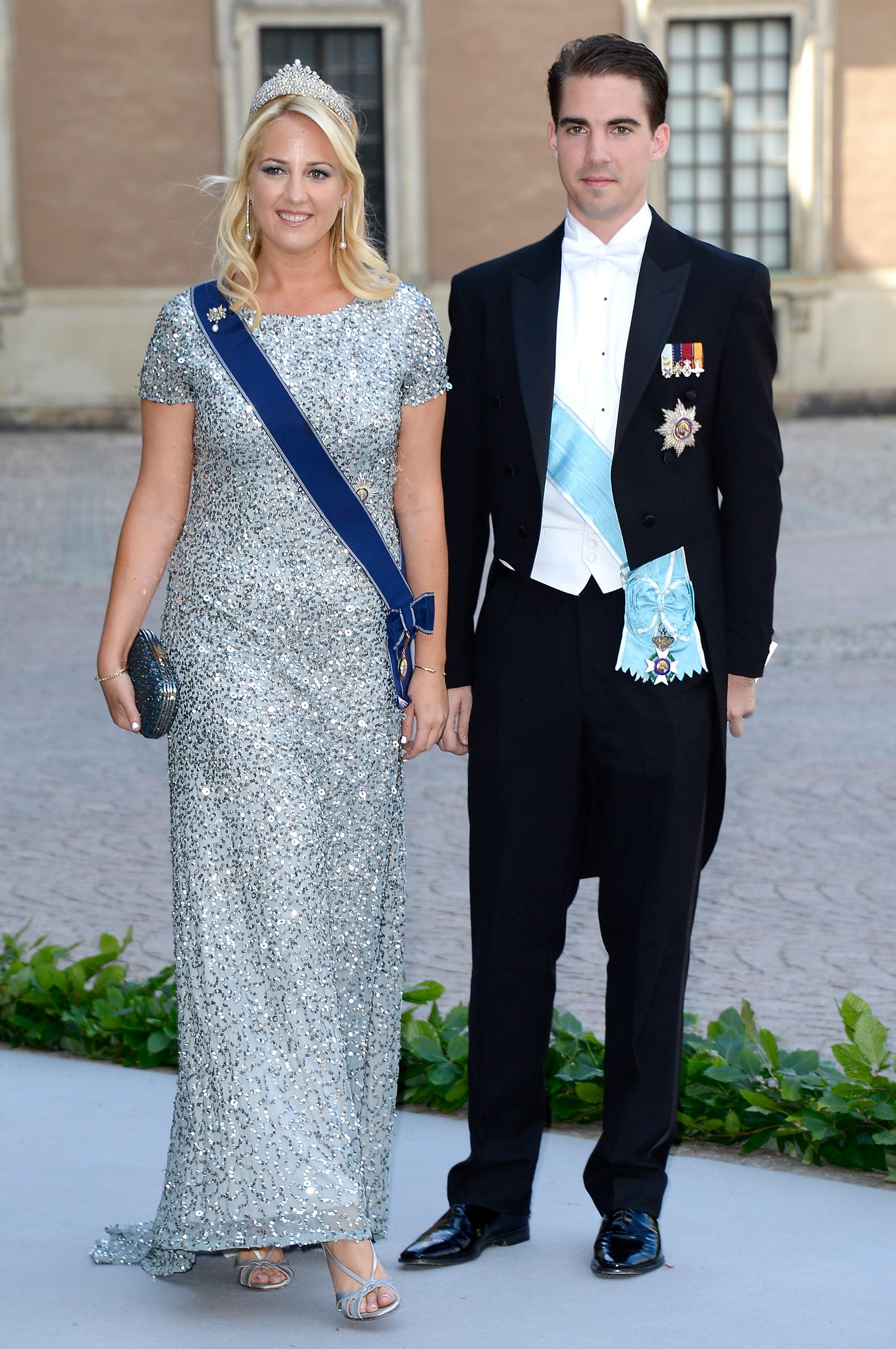 1973 wurde König Konstantin entmachtet.Seine jüngsten Kinder Theodora und Philippos wuchsen deshalb in London auf.  Foto: Getty Images