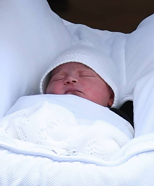 Am 23. April 2018 wurde Prinz Louis geboren.  Foto:imago/PA Images