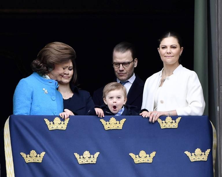 Gähn! Prinz Oscar ist offensichtlich schon wieder müde.  Foto:imago/E-PRESS PHOTO.com
