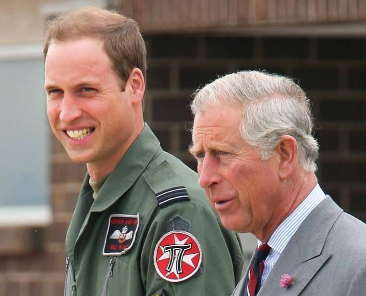 William und Charles kümmerten sich rührend um ihre Verwandte.  Foto:imago/i Images