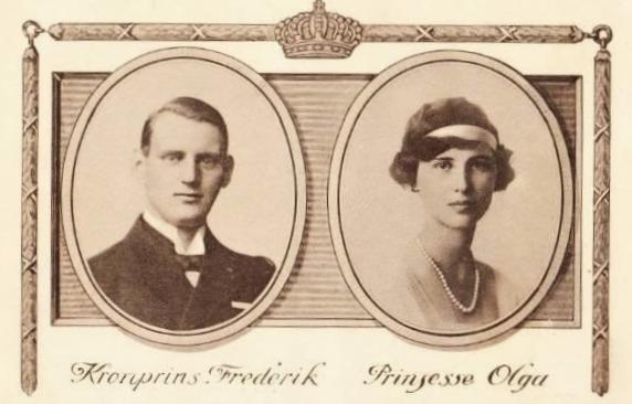 Der spätere König und Olga hatten ihre Eheschließung ankündigen lassen.  Foto: Public Domain