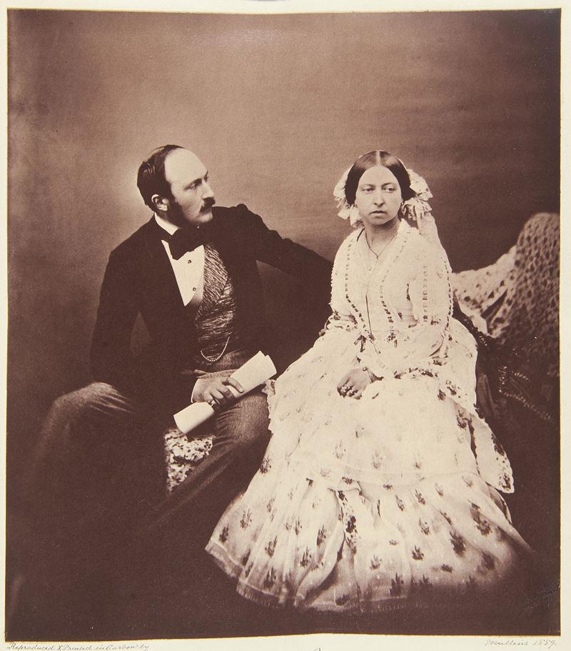 Für Königin Victoria und ihr Mann Prinz Albert waren unter ihrer Kleidung tätowiert. Foto: Gemeinfrei