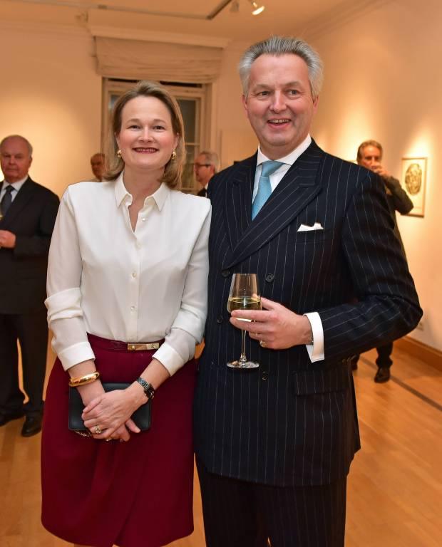 Friedrich Herzog von Württemberg mit seiner Frau Marie im Jahr 2016.  ©Imago/Zeppo