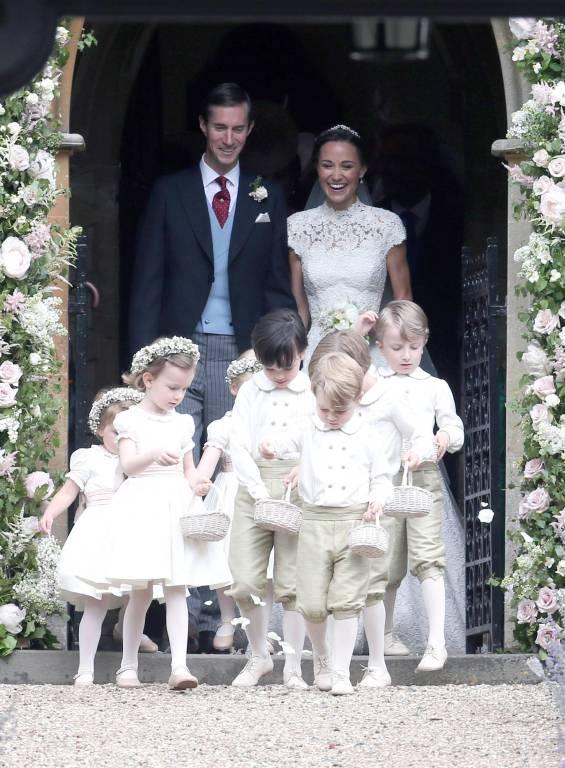 Am 20. Mai 2017 – also fast auf den Tag genau vor einem Jahr – gaben sich Pippa Middleton und James Matthews das Jawort.  ©imago/Starface