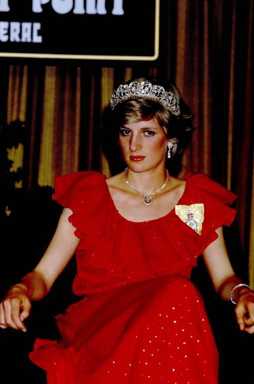 Auch nach der Trauung mit Charles trug Diana die Spencer-Tiara noch verschiedenen Anlässen.  ©imago/Photoshot/John Shelley Collection