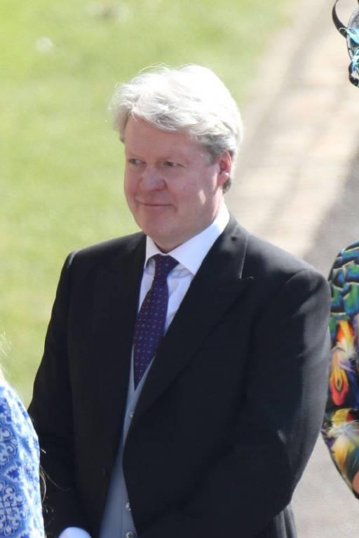 Charles Spencer, Bruder von Prinzessin Diana, ist selbstverständlich auch dabei. Er hat ein enges Verhältnis zu Harry.  ©Imago