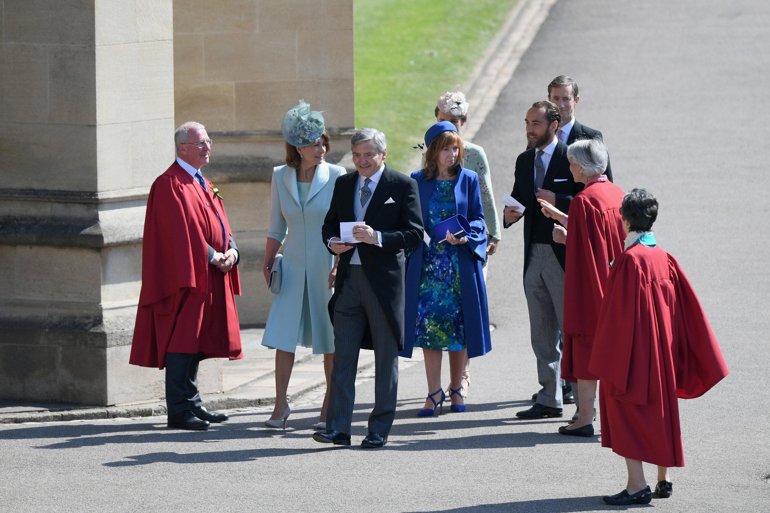 Carol und Michael Middleton wurden ebenfalls eingeladen. Die Eltern von Herzogin Kate sind gute Bekannte von Harry.  ©Getty Images