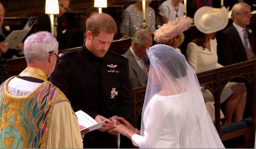©Screenshot Live-Übertragung Royal Wedding