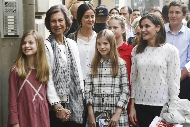 Mit diesem Auftritt in Madrid will die spanische Königsfamilie seine Kritiker besänftigen.  ©imago/CordonPress