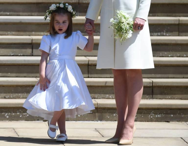 Schon mit drei Jahren gibt die Tochter von Herzogin Kate gerne den Ton an.  ©imago/UPI Photo