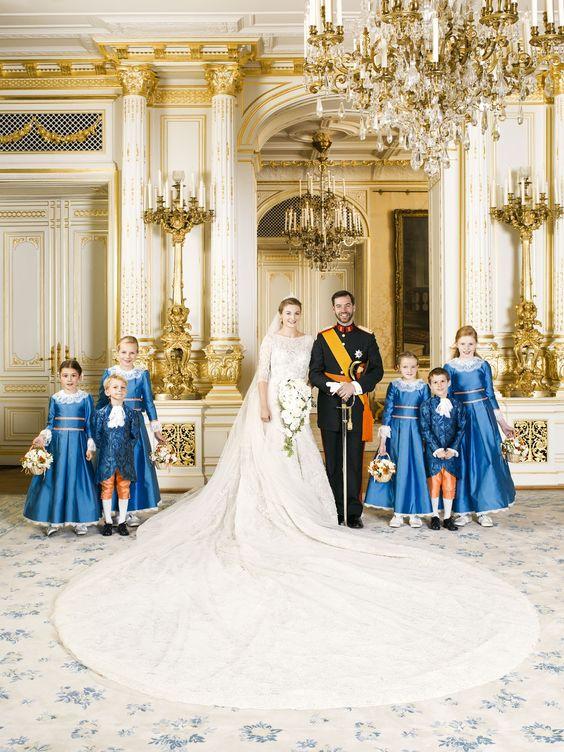 Für ihr neues Leben hat die Braut ihre belgische Staatsangehörigkeit aufgegeben.  ©Christian Aschman / Cour grand-ducale
