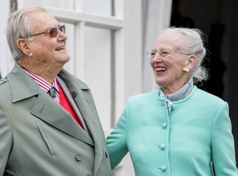 """Prinz Henrik nannte seine Frau """"Daisy"""", also """"Gänseblümchen"""".  ©imago/PPE"""