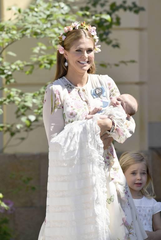 Das schönste Outfit des Tages trug Prinzessin Madeleine.  ©imago/E-PRESS PHOTO.co m