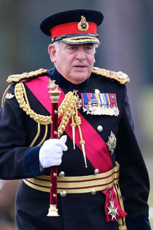 Lord Guthrie ist seit 2001 pensioniert. Doch bis heute nimmt er an den Paraden teil.  ©imago/i Images
