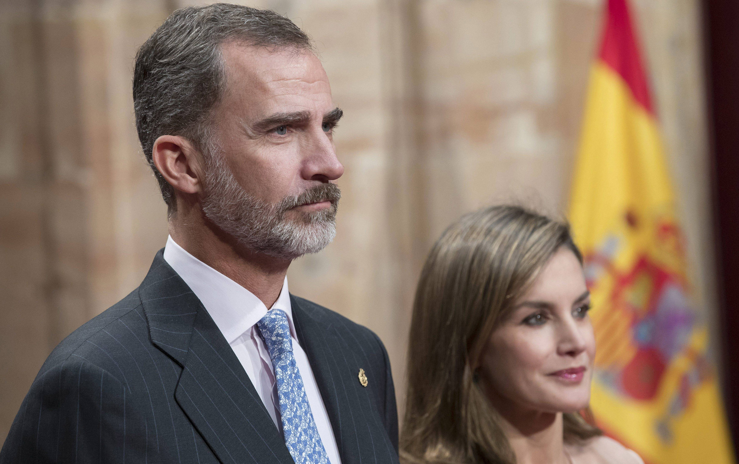 König Felipe und Königin Letizia kämpfen um die spanische Monarchie.  ©ZDF/imago stock