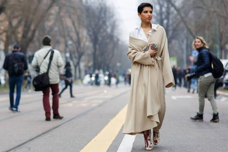 Mal elegant, mal extravagant: Prinzessin Deena Aljuhani Abdulazizist in Sachen Mode ein richtiges Chamäleon.  ©imago/Runway Manhattan