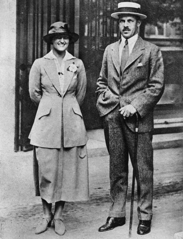 Prinzessin Aspasia und ihr Ehemann Alexander. ©imago/United Archives International