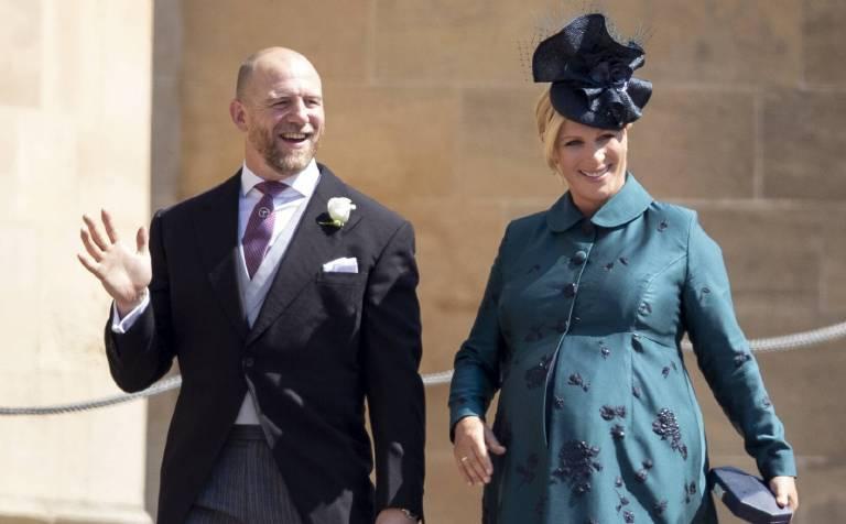 Schon bei der Hochzeit von Prinz Harry und Herzogin Meghan hatte Zara einen kugelrunden Babybauch.  ©imago/Starface