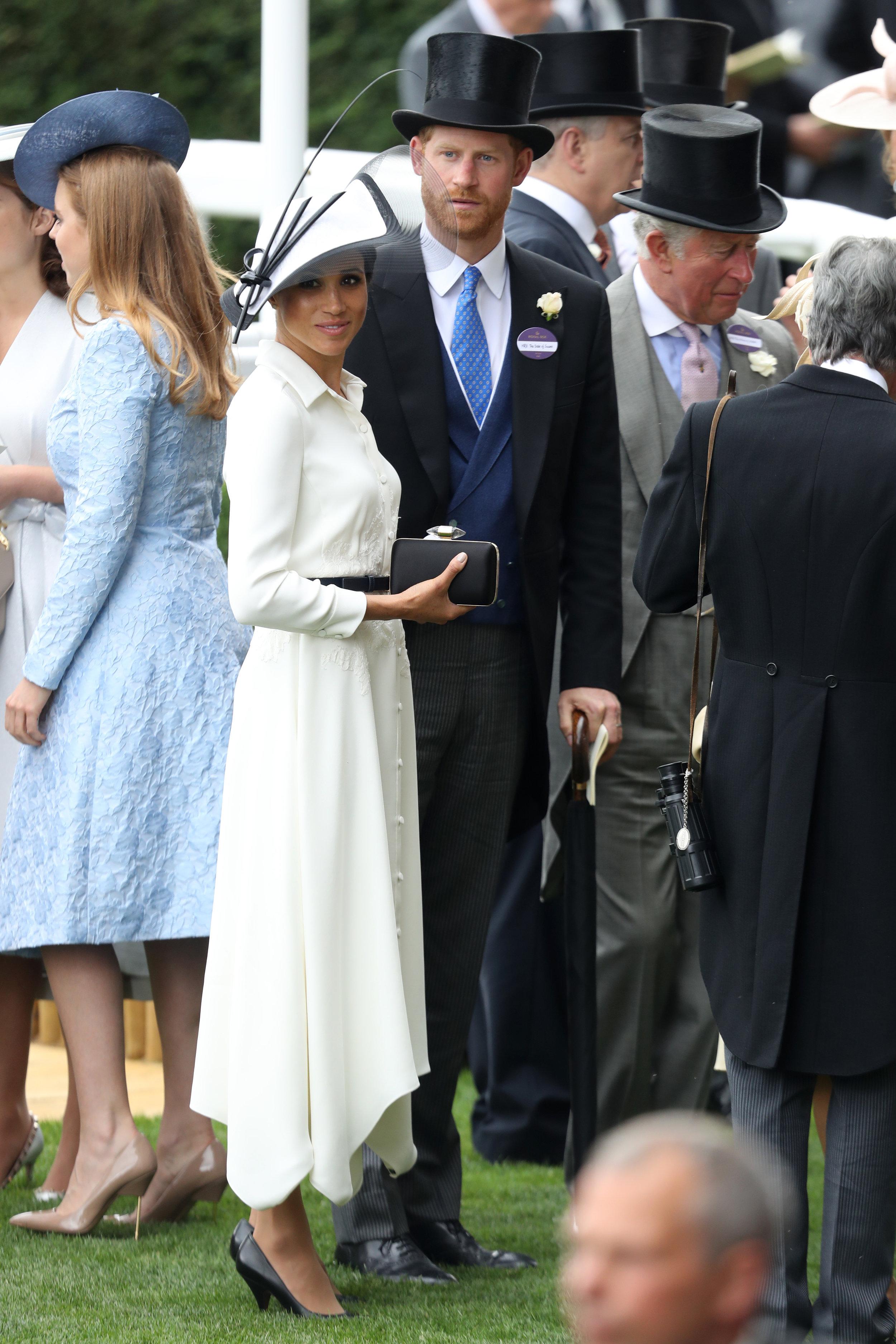 Auf Schritt und Tritt wurden Prinz Harry und seine Frau von den Fotografen verfolgt.  Foto: Getty Images