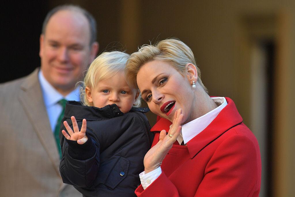 Fürstin Charlène ist mit Leib und Seele Mutter. Im Interview spricht sie über ihre Zwillinge.  ©Getty images