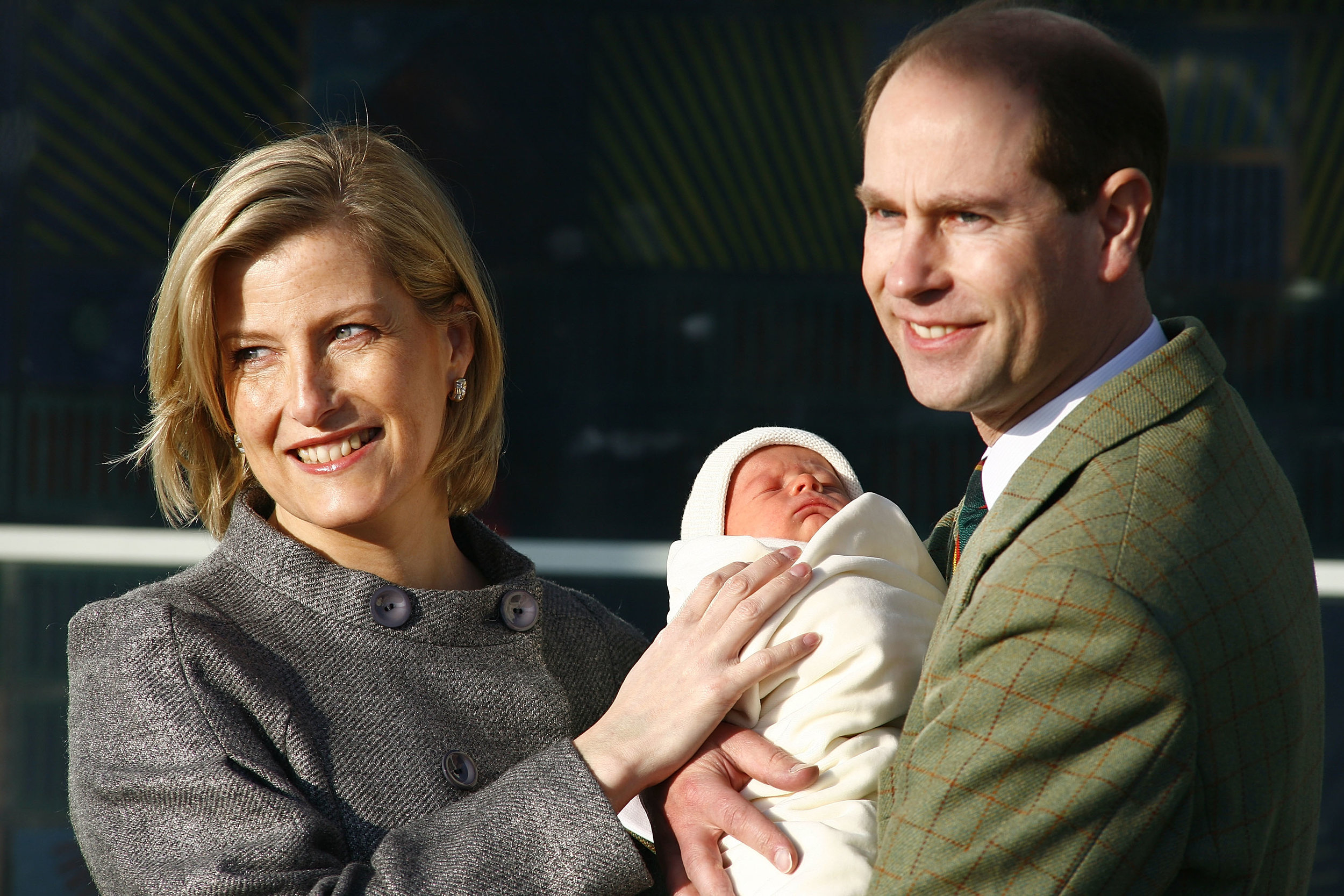 2003 brachte Sophie von Wessex ihre Tochter Louise per Notkaiserschnitt auf die Welt. 2007 wurde Sohn James geboren.  ©Getty Images