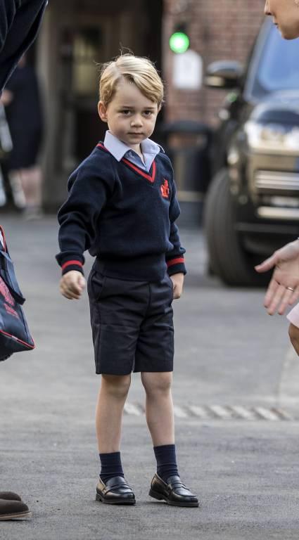 Ein neues Foto von Prinz George begeistert die Fans im Netz.  ©imago/i Images