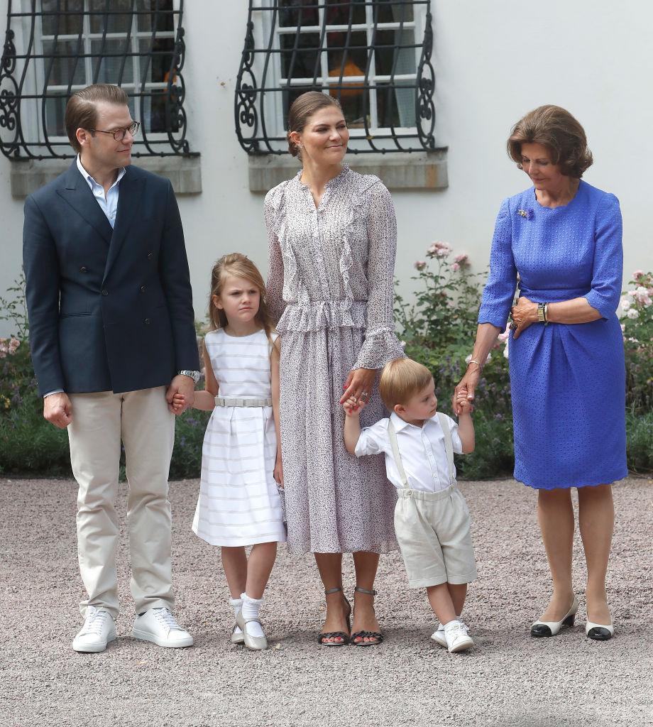 Kronprinzessin Victoria und ihre Familie wissen zu dem Zeitpunkt noch nicht, dass in ihrem Zuhause ein Feuer wütet.  ©Getty Images