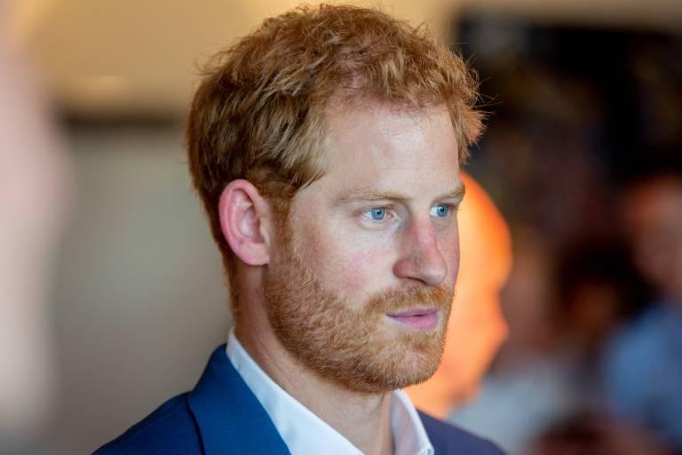 Prinz Harry engagiert sich im Kampf gegen Aids.  ©imago/Hollandse Hoogte